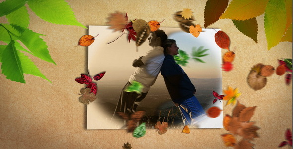 After Effects Project - VideoHive Slideshow Golden Autumn 697875