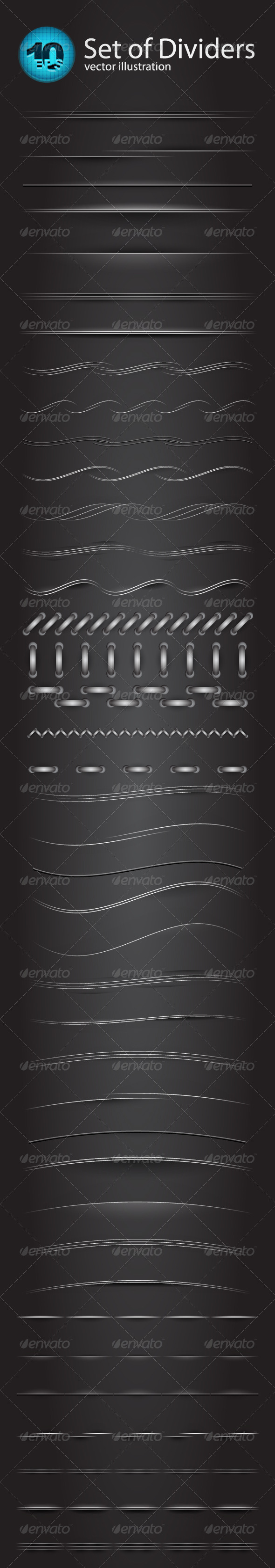 GraphicRiver Vector divider set 679475