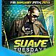 Suave Tuesdays Flyer - GraphicRiver Item for Sale