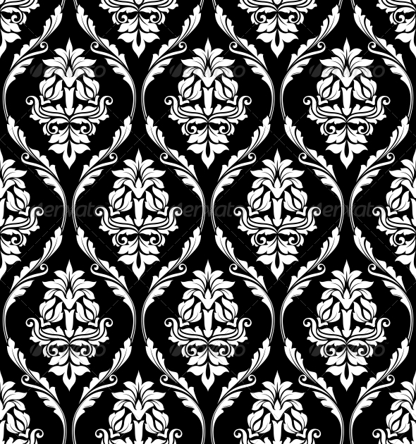 GraphicRiver Damask-Style Pattern 6658688