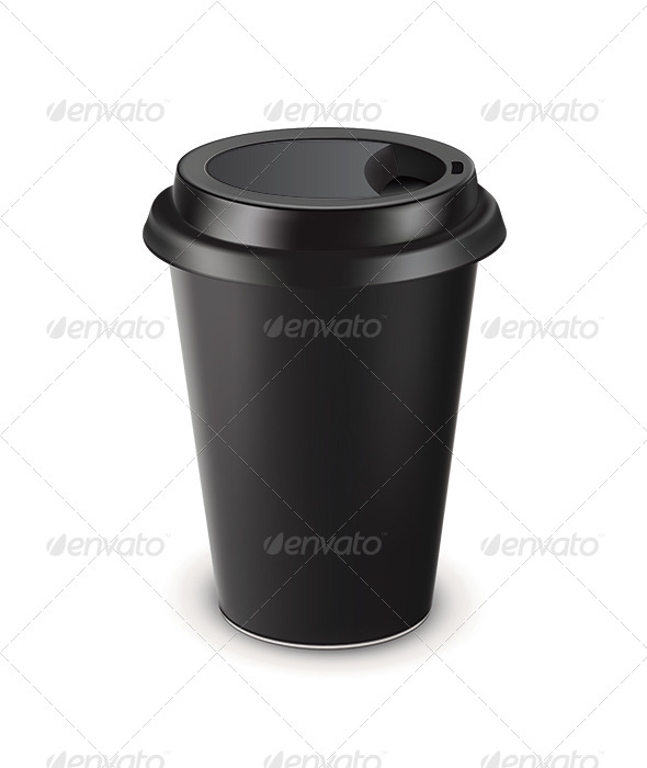 GraphicRiver Disposable Coffee Cup 6658944