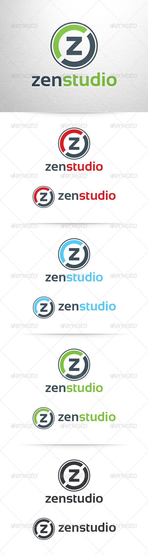 GraphicRiver Zen Studio Letter Z Logo 6659431