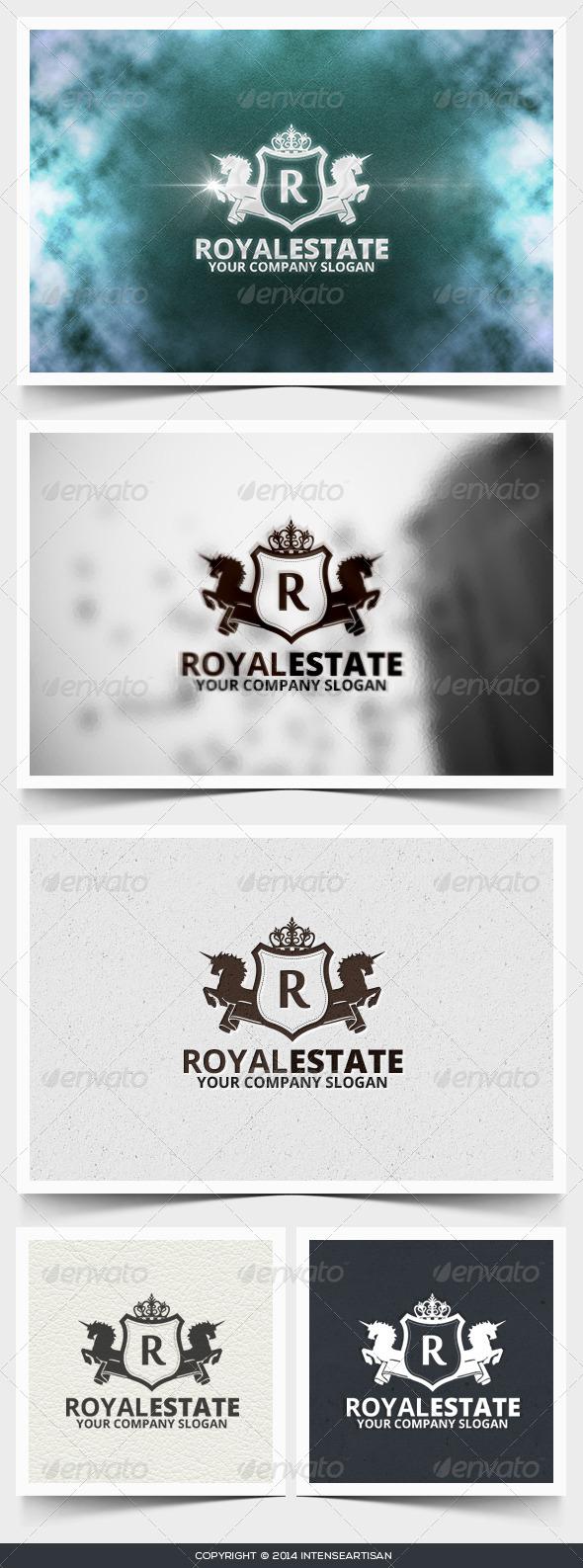 GraphicRiver Royal Estate Logo Template 6659558
