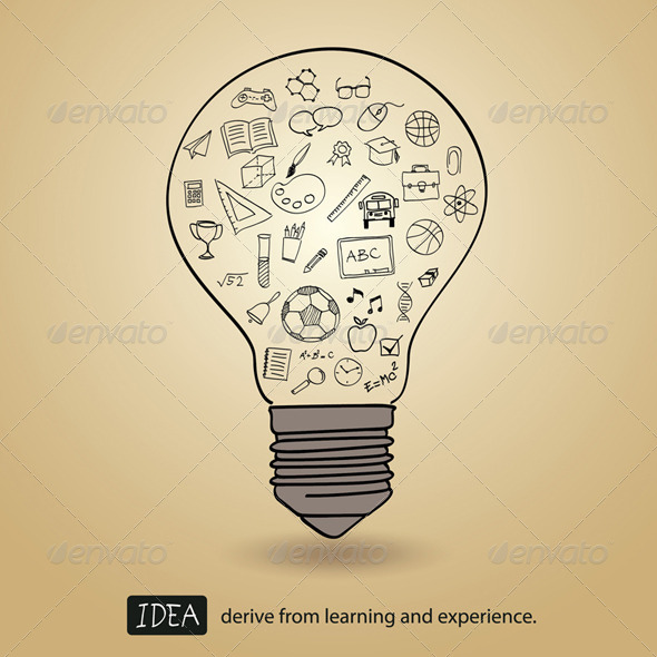 GraphicRiver Idea Derive From Learning and Experience 6660359