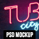Awesome NEON Text Effect Style - GraphicRiver Item for Sale