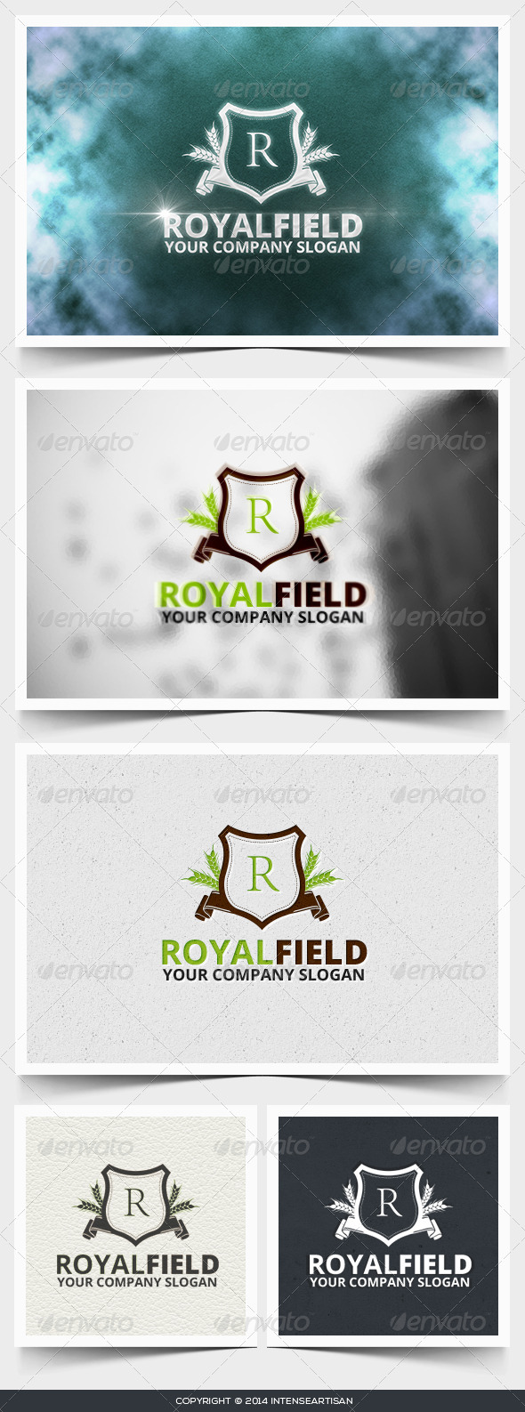 GraphicRiver Royal Field Logo Template 6660870