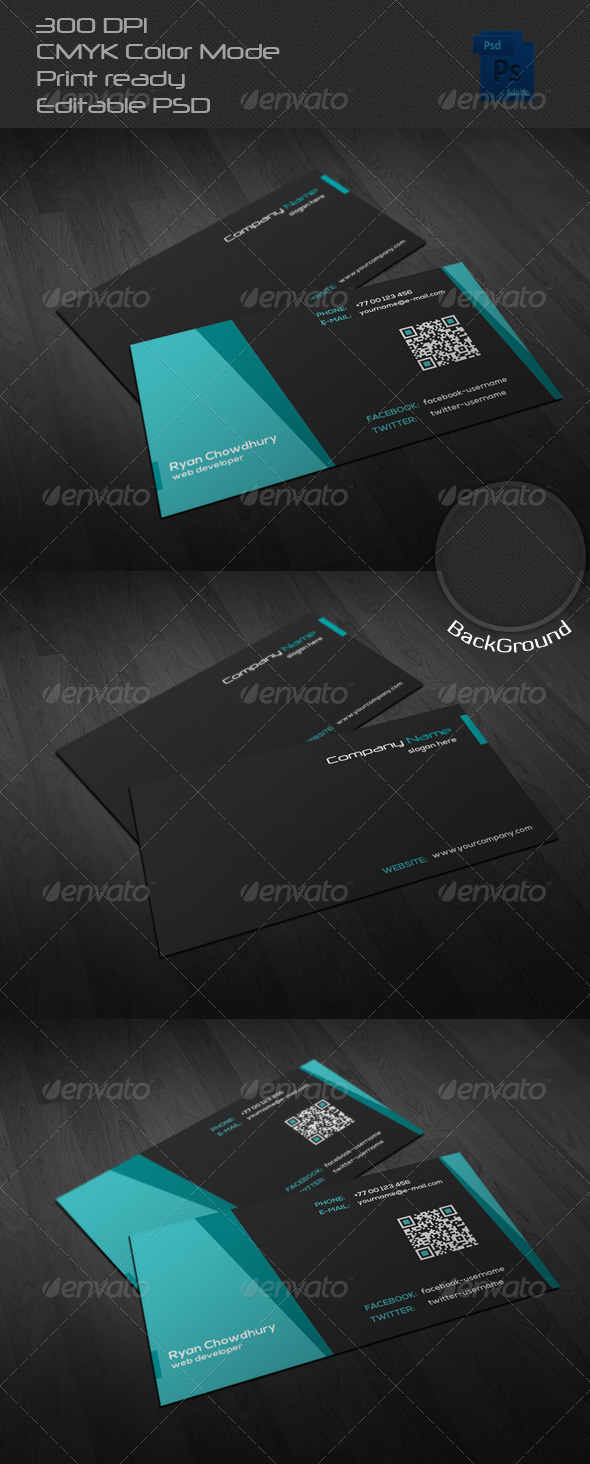 GraphicRiver Corporate Business Card 27 6661488