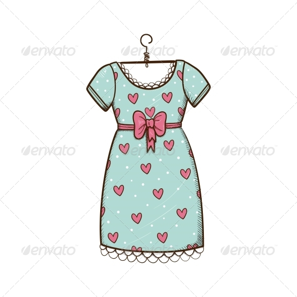 GraphicRiver Pretty Dress 6662559