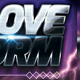 A LOVE STORM - Party Flyer Template - GraphicRiver Item for Sale