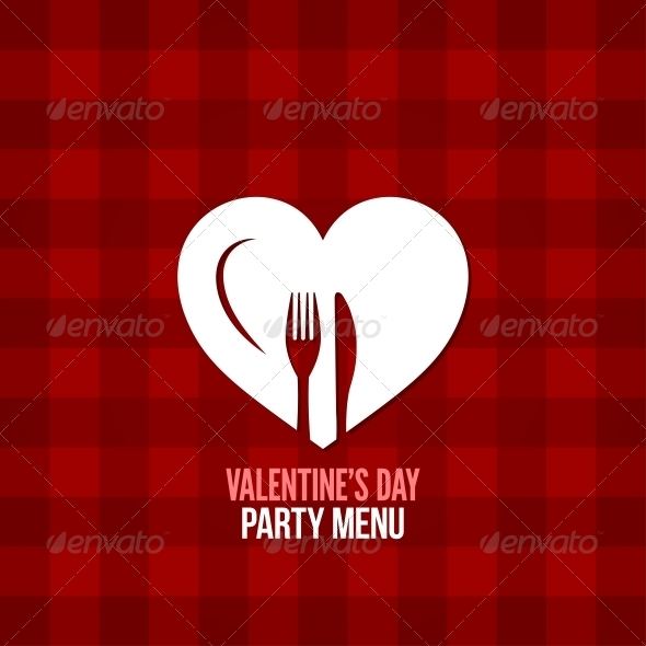 GraphicRiver Valentines Day Menu 6662815