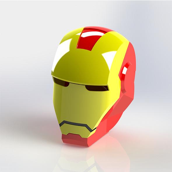 3DOcean Iron Man Helmet 6662987