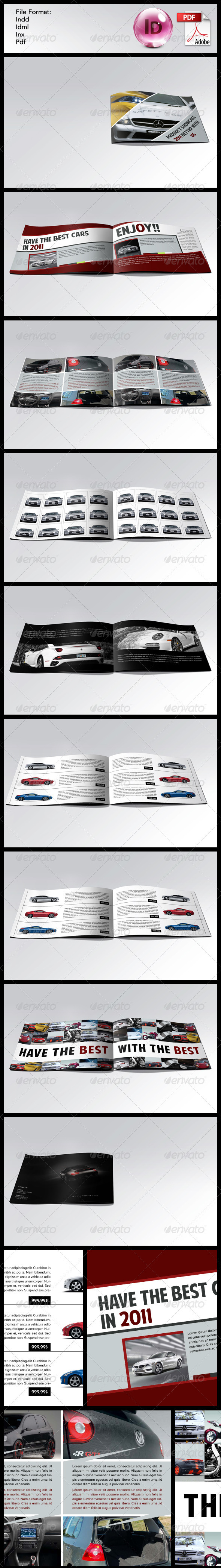Product Showcase - Catalogs Brochures