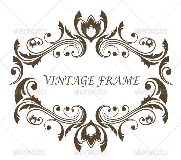 GraphicRiver Floral Frame 6663694