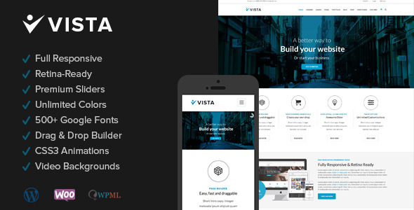 ThemeForest Vista Responsive Multi-Purpose Wordpress Theme 6656056