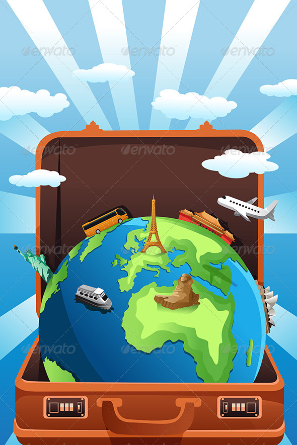 GraphicRiver Travel Concept 6664617
