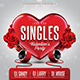 Just for Singles Flyer Template - GraphicRiver Item for Sale