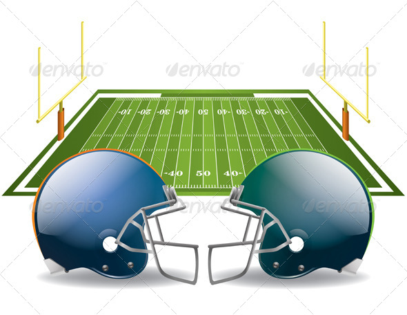 GraphicRiver American Football 6665299