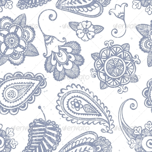 GraphicRiver Floral Seamless Pattern 6665309