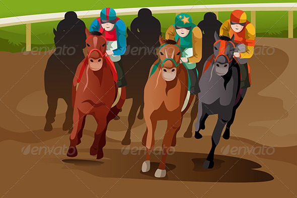 GraphicRiver Horse Racing 6666107