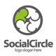 Social Circle Logo - GraphicRiver Item for Sale