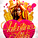 Valentine's Day Affair Flyer Template PSD - GraphicRiver Item for Sale