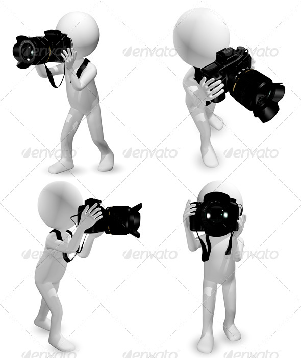 GraphicRiver Man with a Camera 6667489