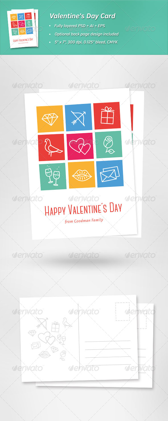 GraphicRiver Valentine s Day Card 6668121