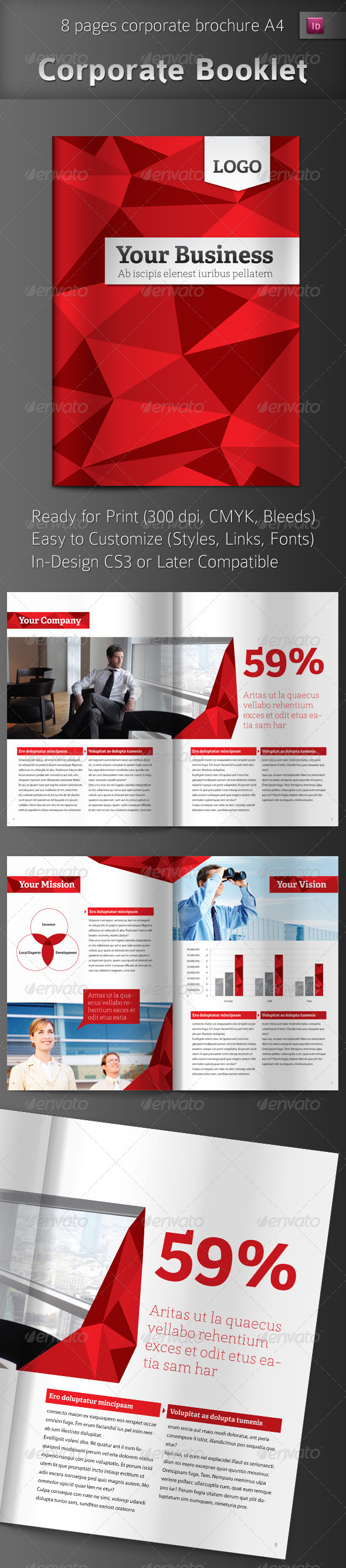 GraphicRiver Professional Business Brochure 698524