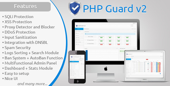 CodeCanyon phpGuard v2 Security for your site 6671523