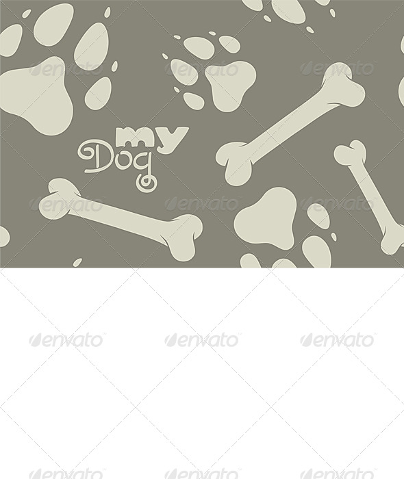 GraphicRiver My Dog pattern 6671585