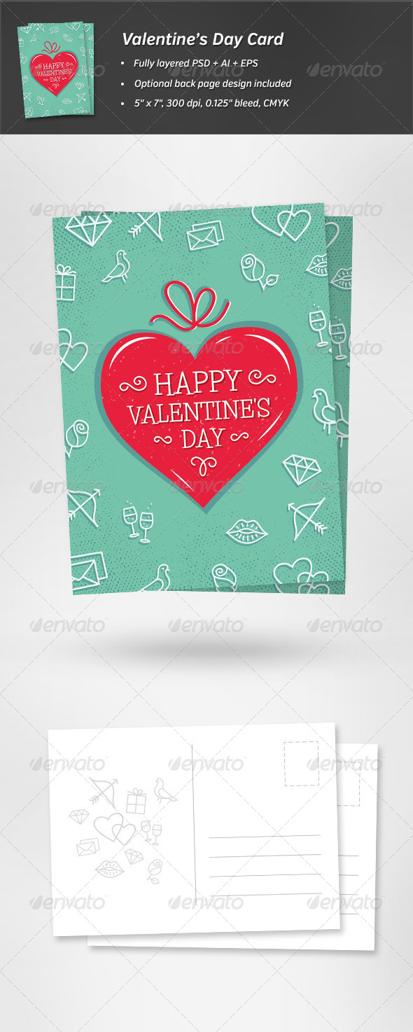 GraphicRiver Valentine s Day Card 6671811