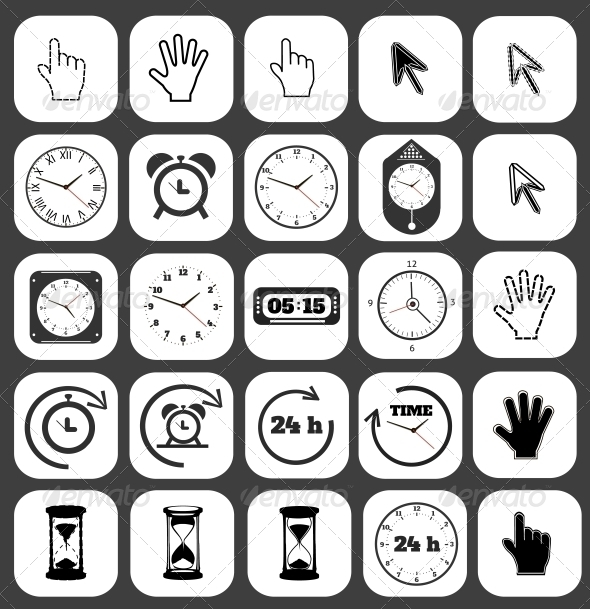 GraphicRiver Interface Icon Set 6671815