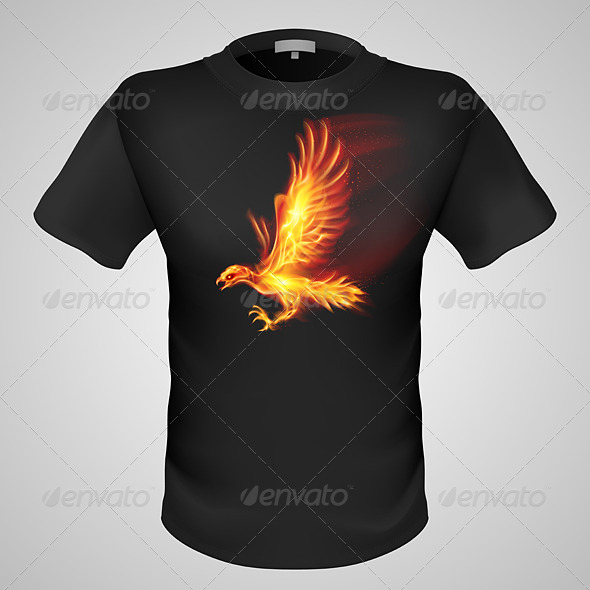 GraphicRiver Male T-Shirt with Print 6671874
