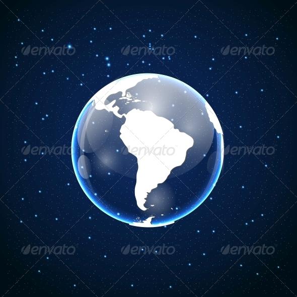GraphicRiver Globe Icon 6672388