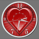 New Heart Clock - ActiveDen Item for Sale