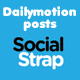 Dailymotion video addon til SocialStrap - WorldWideScripts.net vare til salg