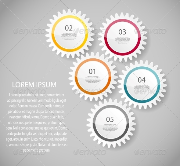 GraphicRiver Infographic Business Template Vector Illustration 6673283
