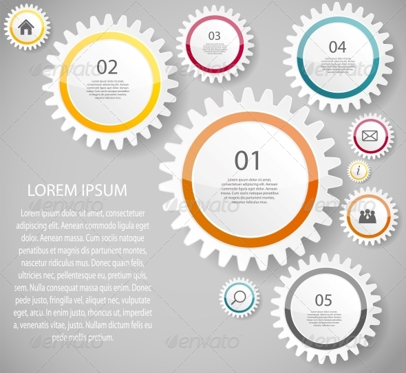 GraphicRiver Infographic Business Template Vector Illustration 6673284