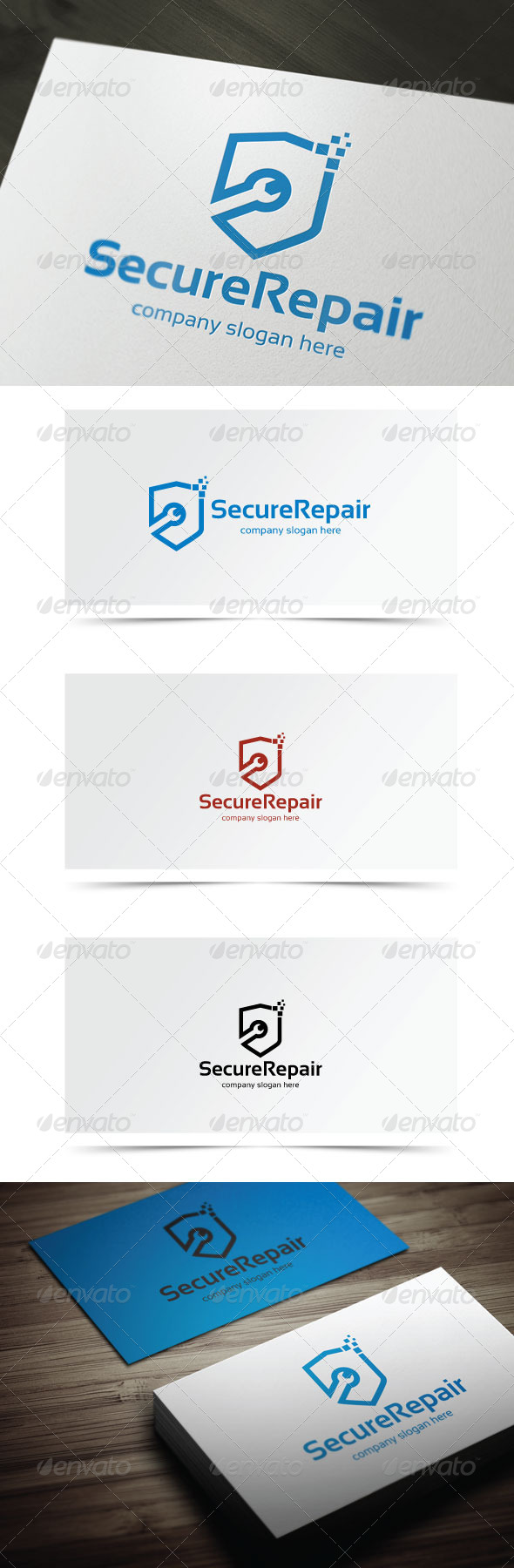 GraphicRiver Secure Repair 6674090