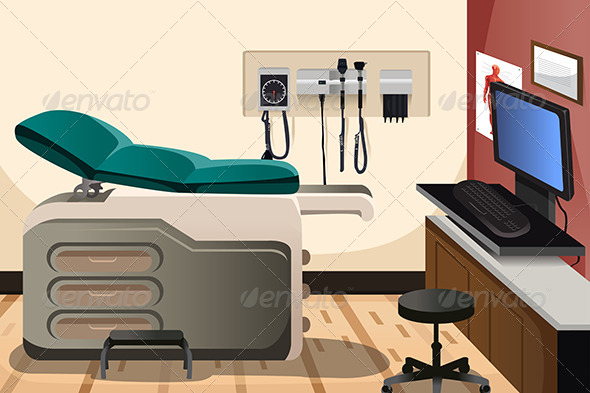 GraphicRiver Doctor Office 6674845