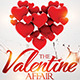 The Valentine Affair Party Flyer  - GraphicRiver Item for Sale