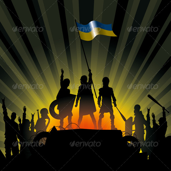 GraphicRiver Vector Illustration of Revolution People 6676948
