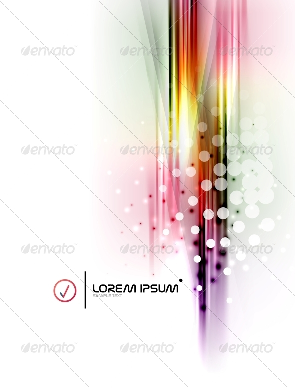 GraphicRiver Stripes Presentation Banner 6677316
