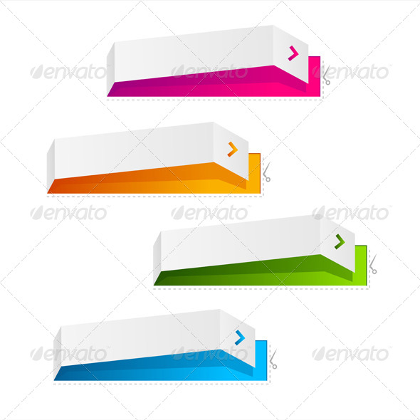 GraphicRiver Colorful Text Boxes 6677771
