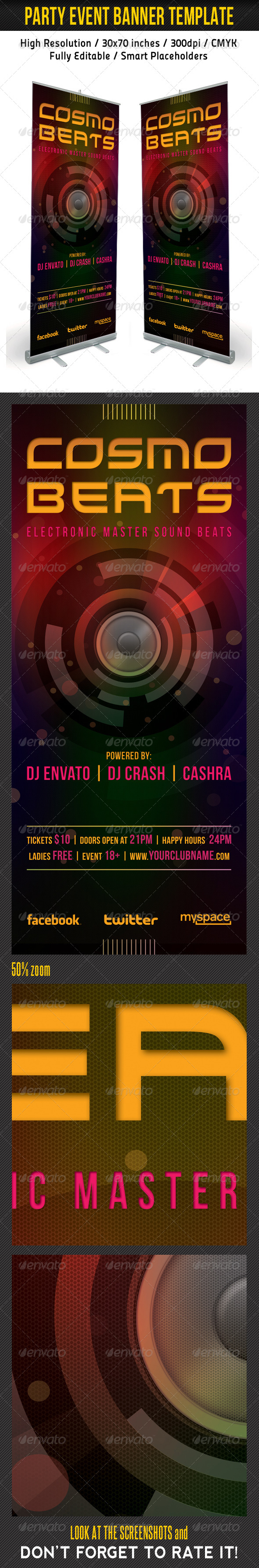 GraphicRiver Party Event Multipurpose Banner Template 01 6678079