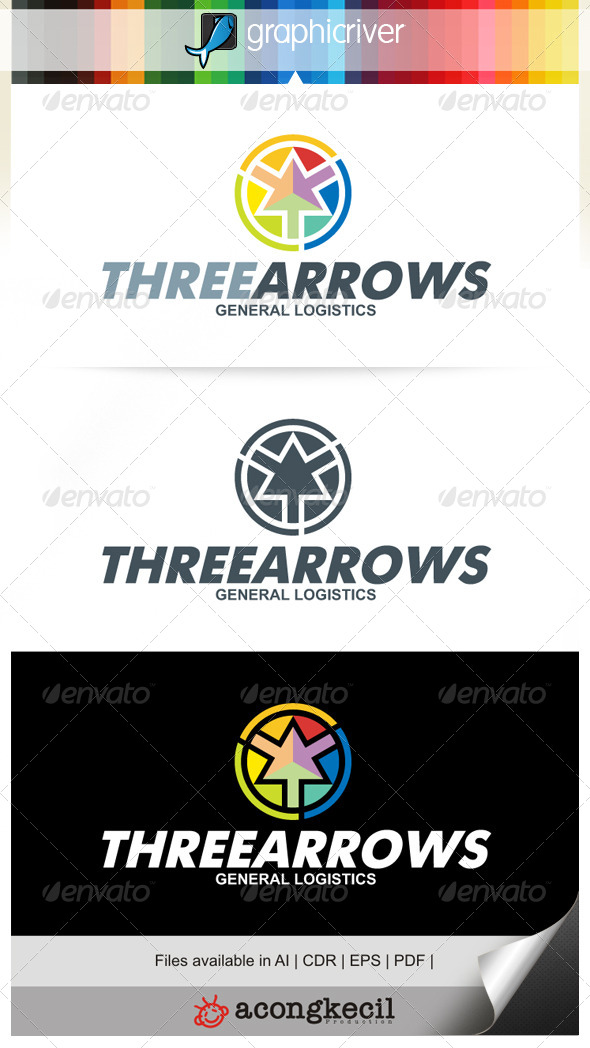 GraphicRiver Three Arrows 6678653