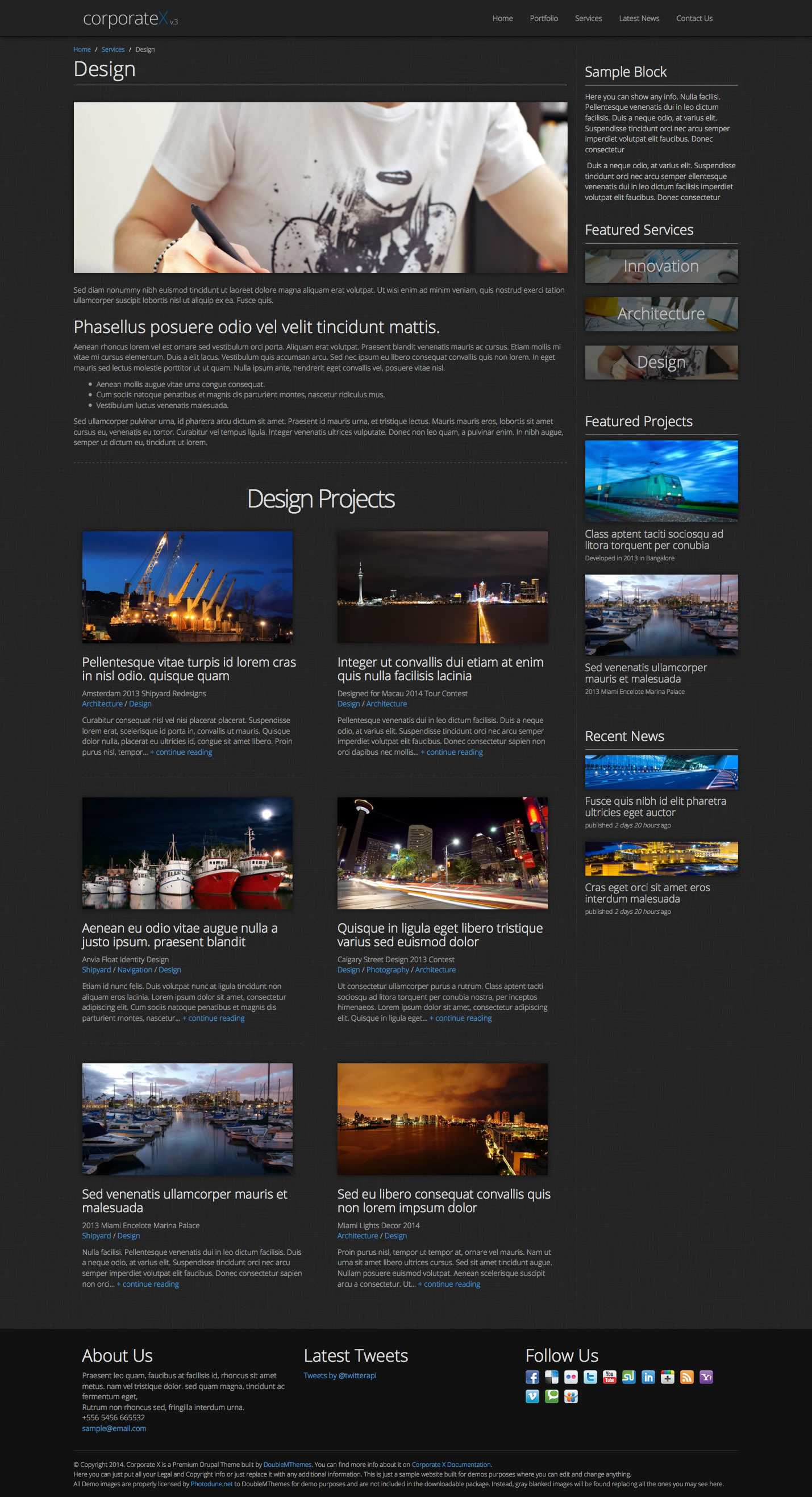Corporate X - Multipurpose Drupal 7 Theme