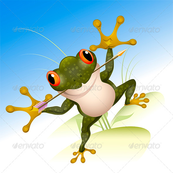 GraphicRiver The Lucky Frog 6679464