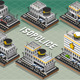 Set of Isometric Police Station - GraphicRiver Item for Sale