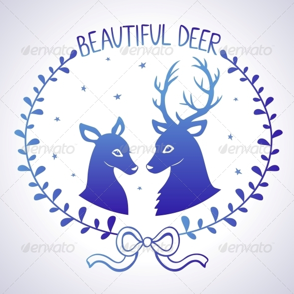 GraphicRiver Deer 6680198